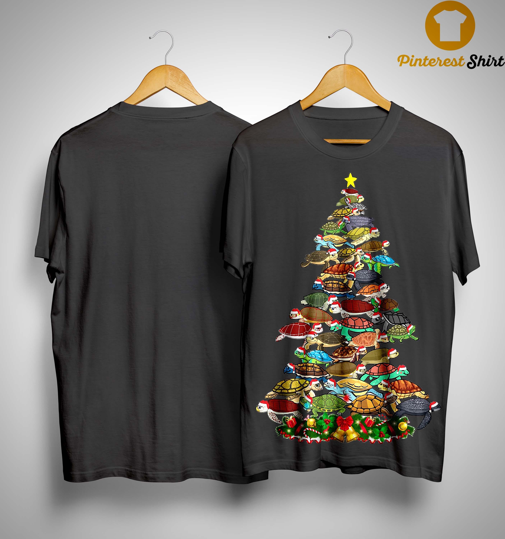 Turtle Christmas Tree Shirt