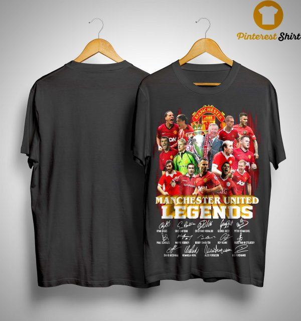 Manchester United Legends Signatures Shirt