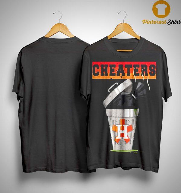 Trash Can Houston Trashtros Cheaters Shirt
