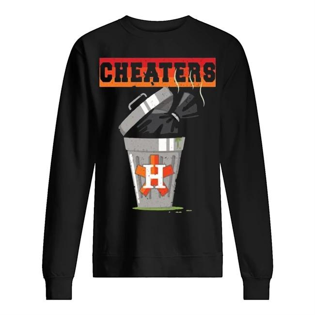 Trash Can Houston Trashtros Cheaters Sweater