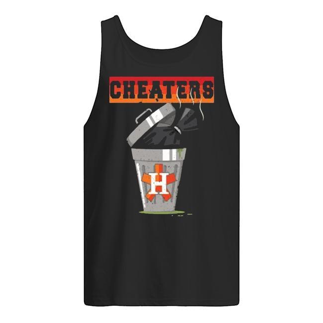 Trash Can Houston Trashtros Cheaters Tank Top