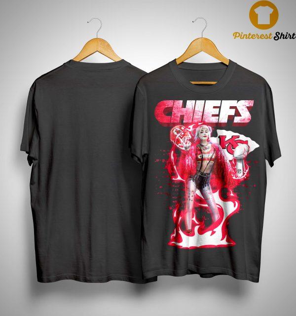 Harley Quinn Kansas City Chiefs Liv Shirt