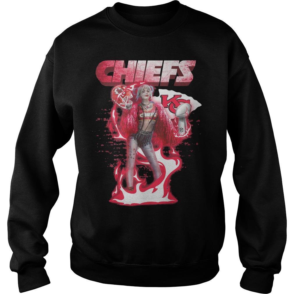 Harley Quinn Kansas City Chiefs Liv Sweater