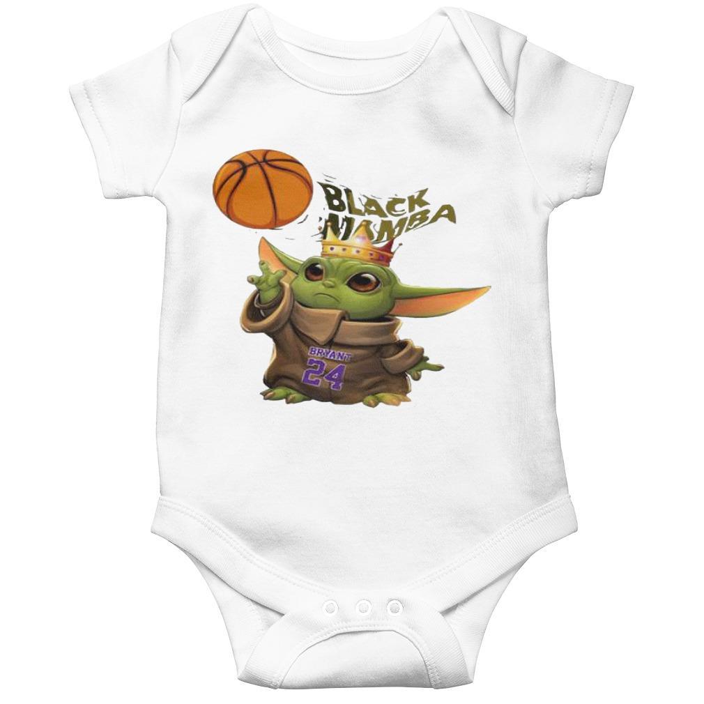 King Baby Yoda Black Mamba Bryant 24 Longsleeve