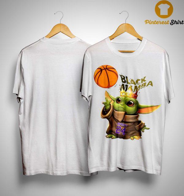 King Baby Yoda Black Mamba Bryant 24 Shirt