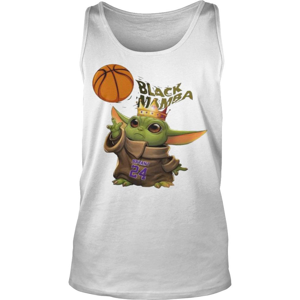 King Baby Yoda Black Mamba Bryant 24 Tank Top