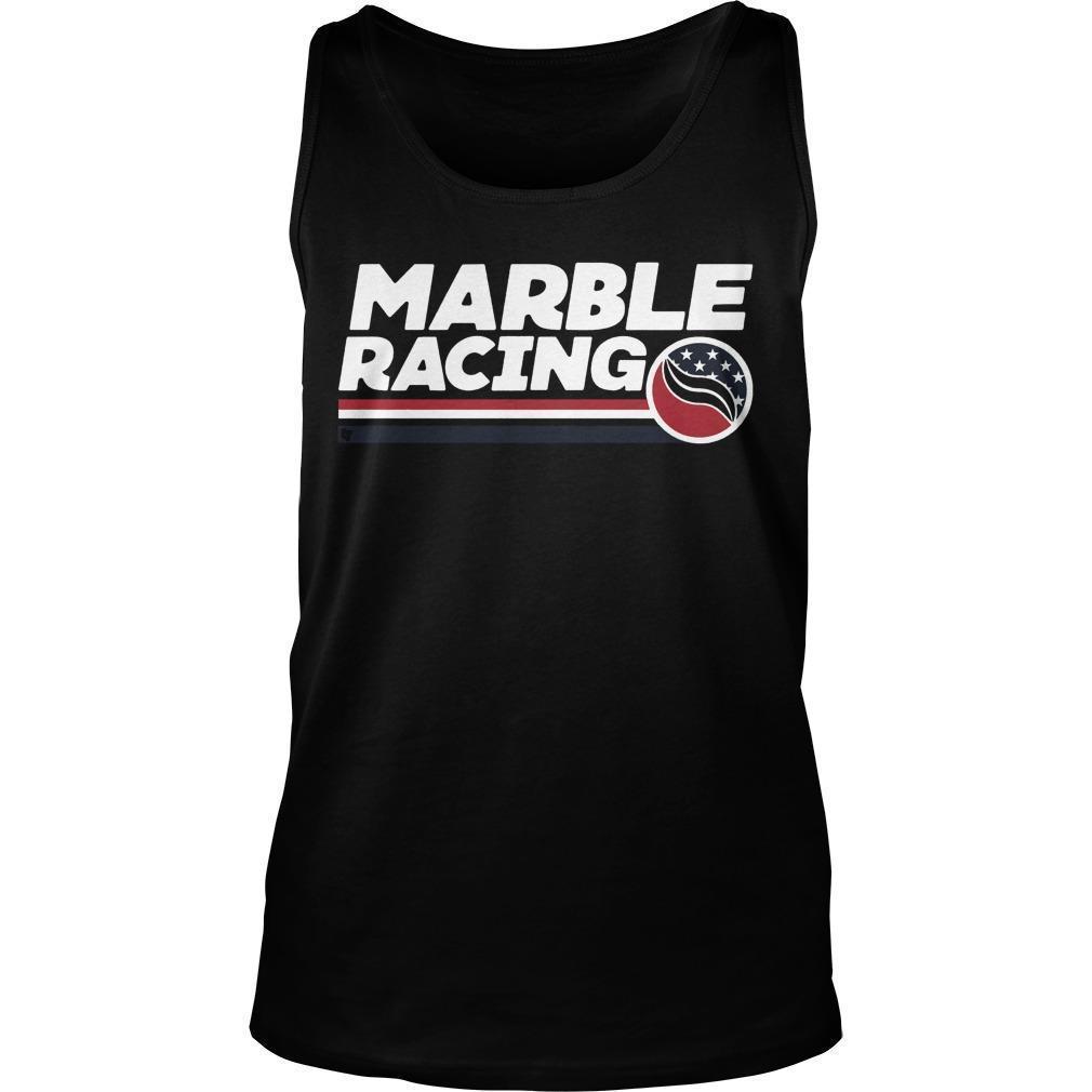 Marble Racing Tank Top