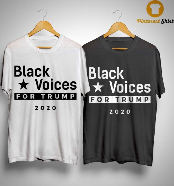 Trump Black Voice For Trump Shirt