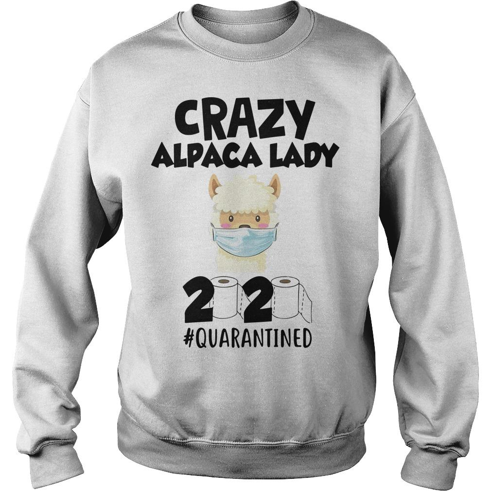 Crazy Alpaca Lady 2020 Quarantined Sweater