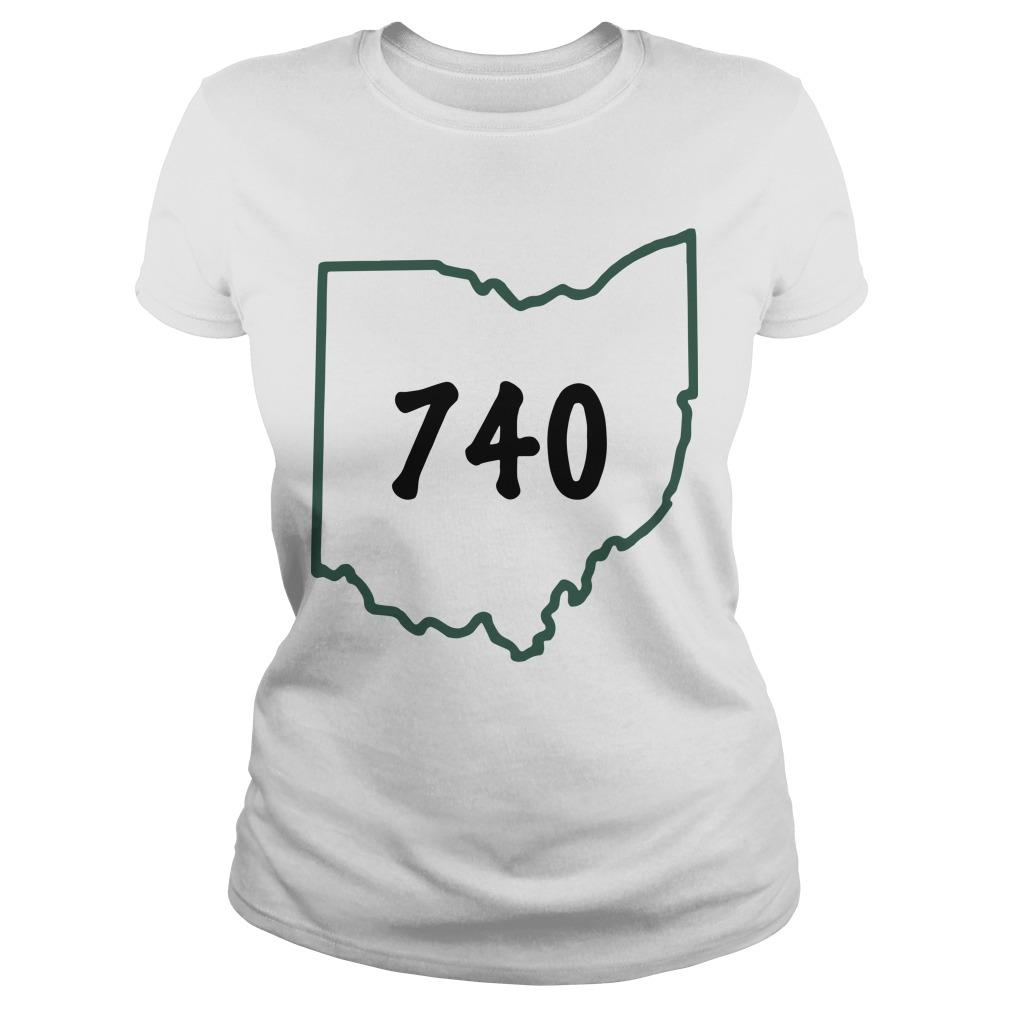 Joe Burrow 740 Ohio Longsleeve
