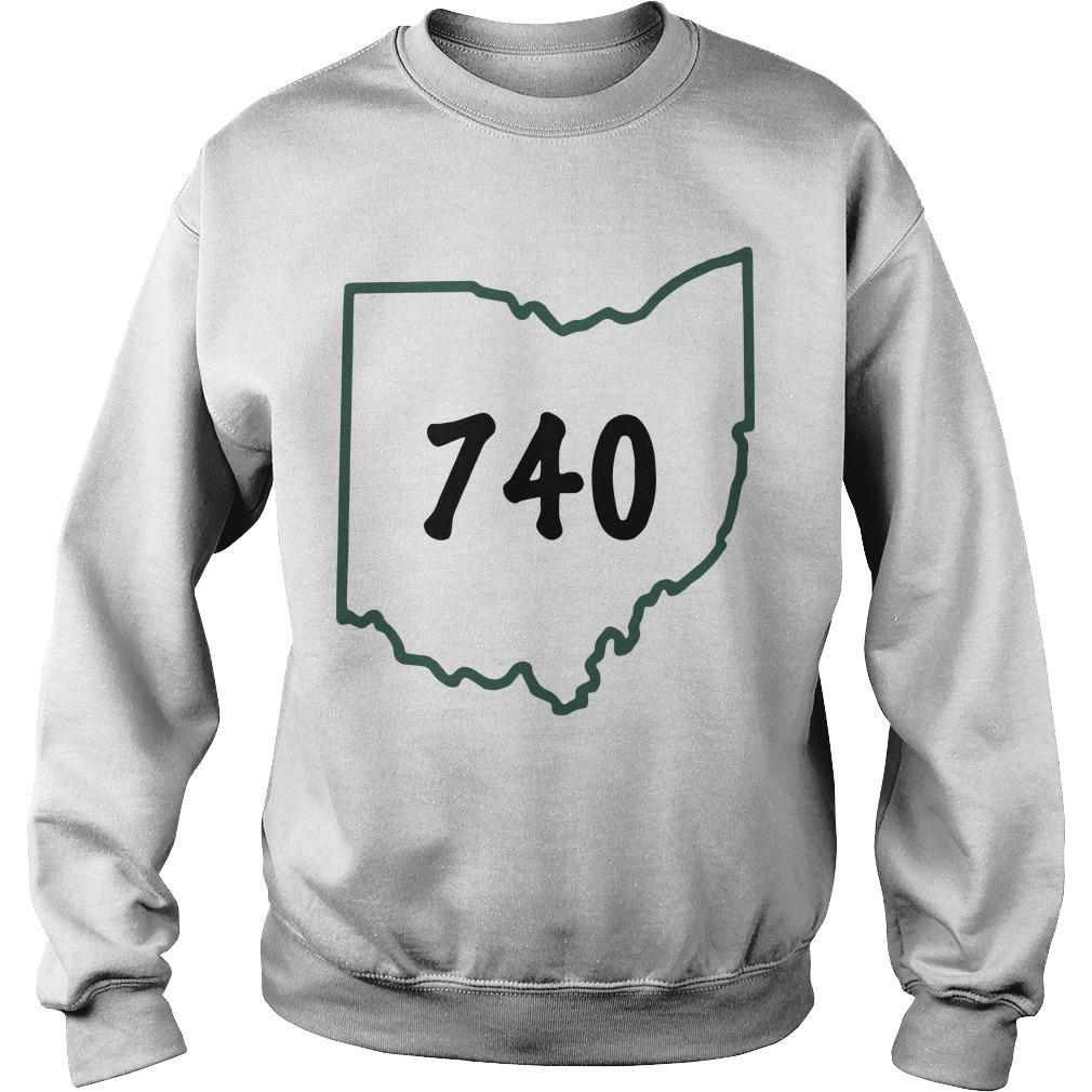 Joe Burrow 740 Ohio Sweater
