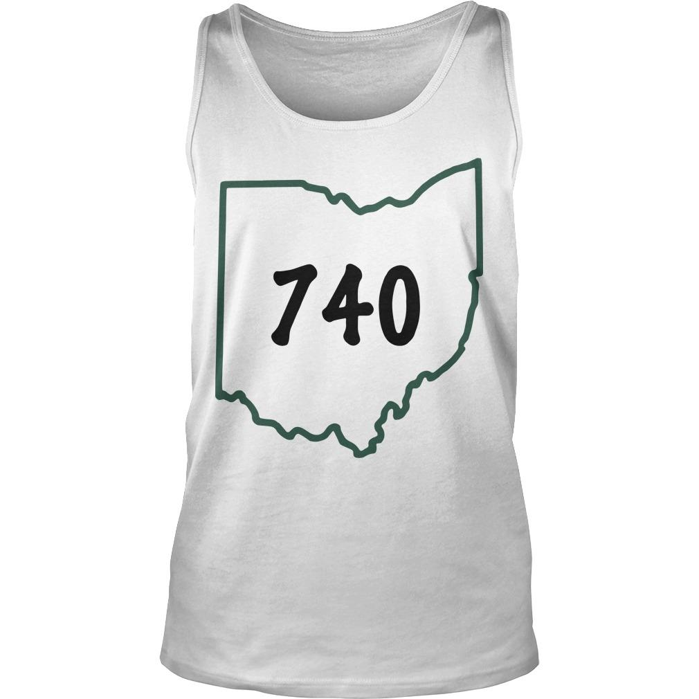 Joe Burrow 740 Ohio Tank Top