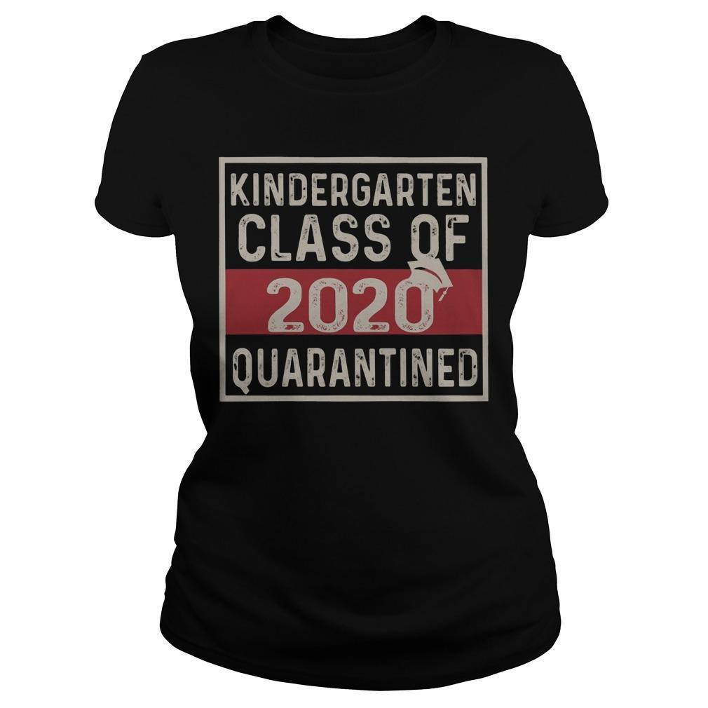 Kindergarten Class Of 2020 Quarantined Longsleeve