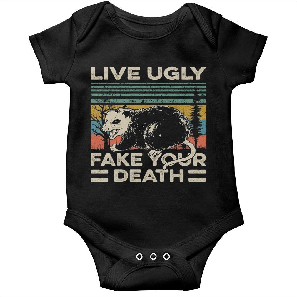 Live Ugly Fake Your Death Longsleeve