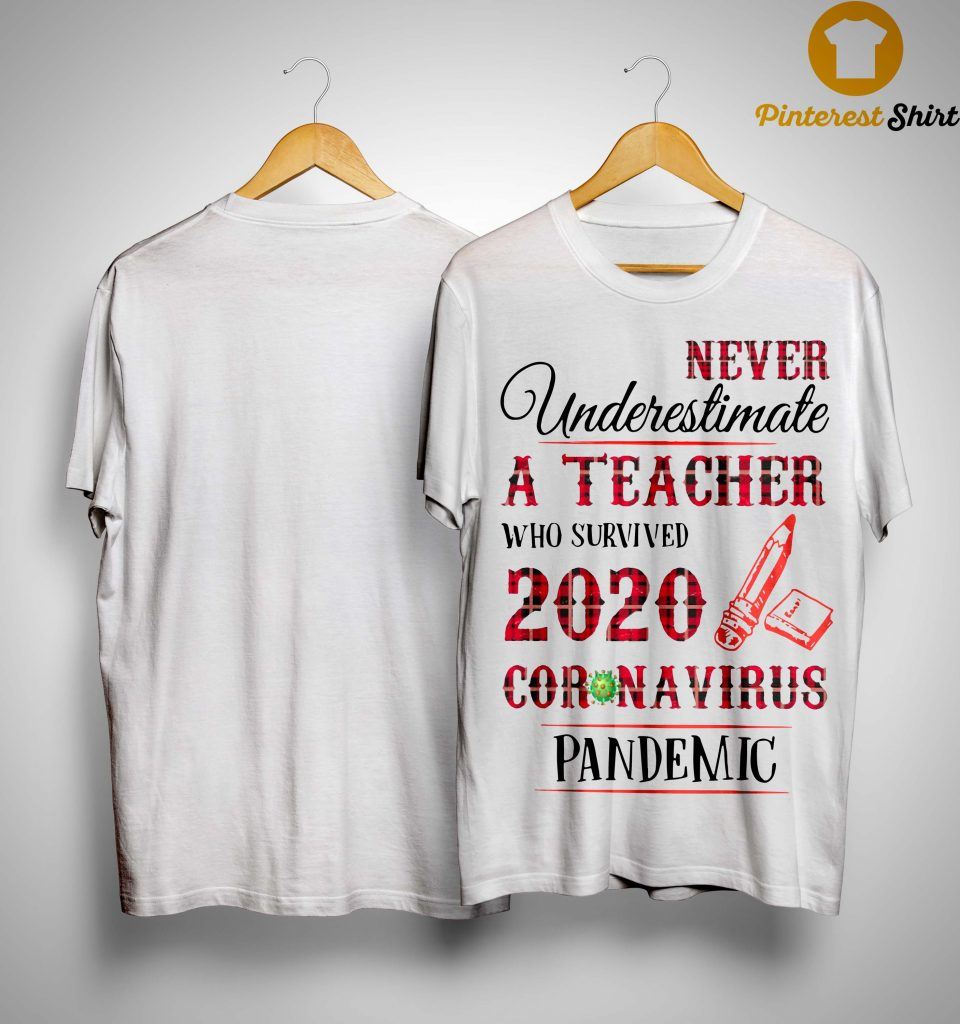 Never Underestimate A Teacher Who Survived 2020