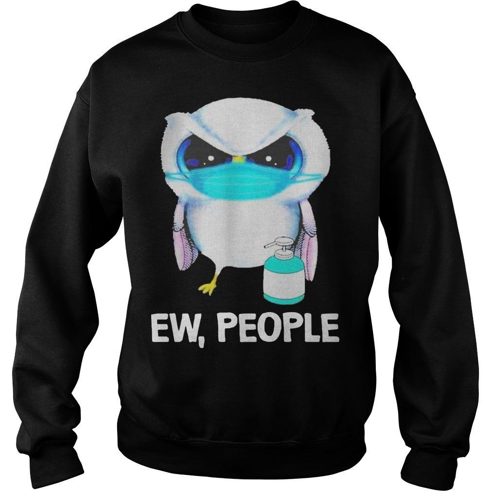 Owl Face Mask Ew People Sweater