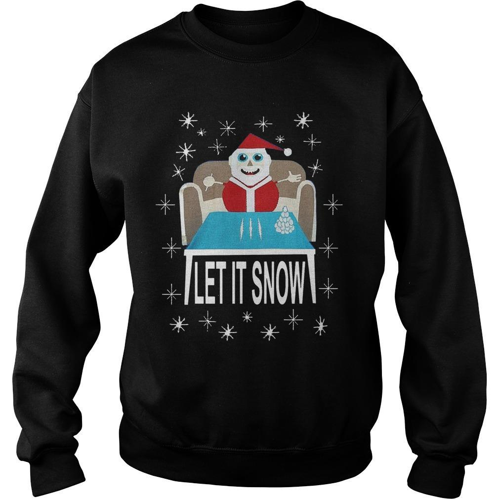 Walmart Let It Snow Sweater
