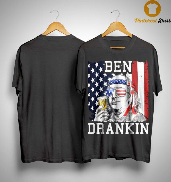 American Flag Ben Drankin Shirt