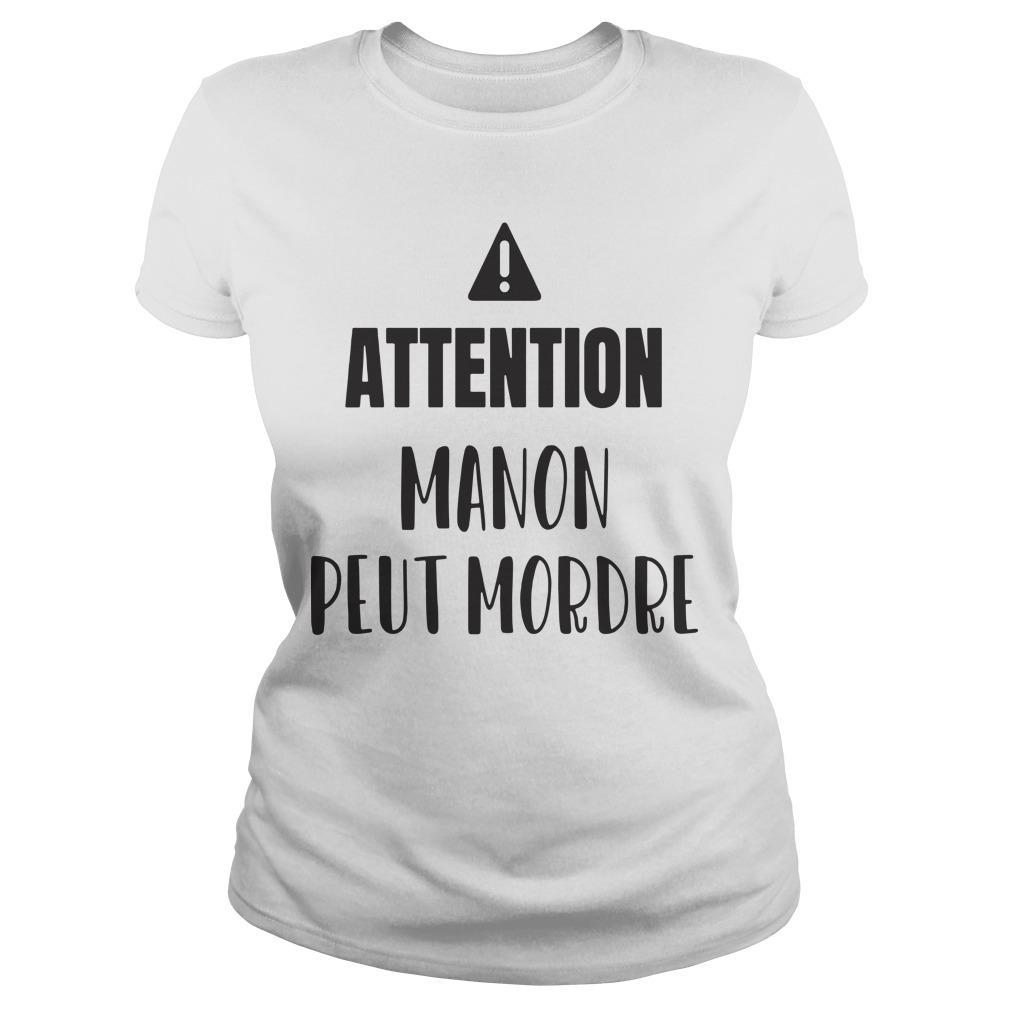 Attention Manon Peut Mordre Longsleeve