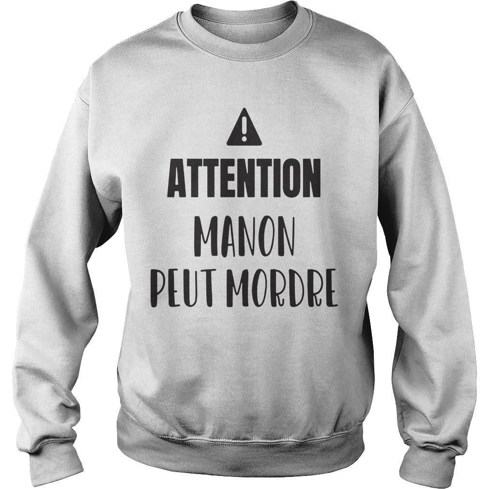 Attention Manon Peut Mordre Sweater