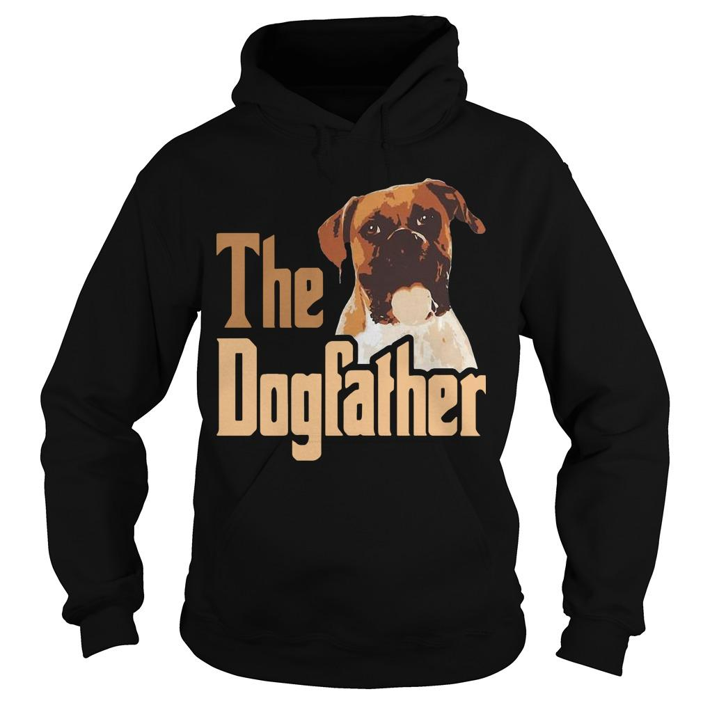 Boxer The Dogfather Father Hoodie