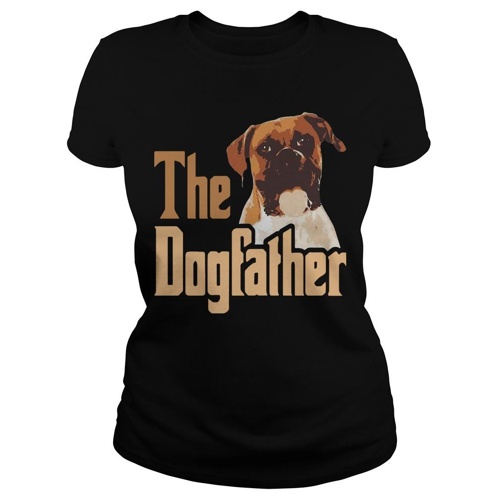 Boxer The Dogfather Father Longsleeve