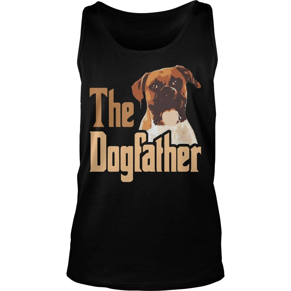 Boxer The Dogfather Father Tank Top
