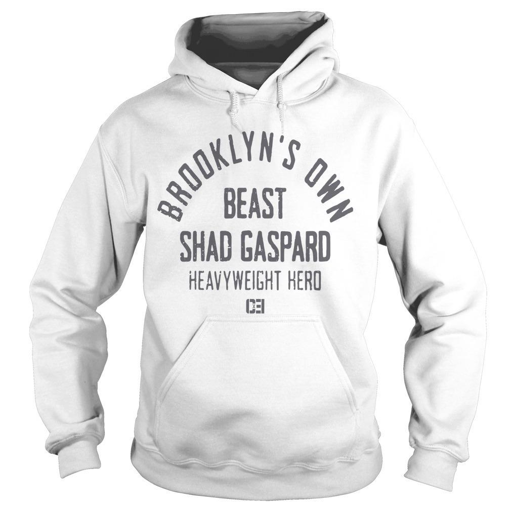 Brooklyn's Own Beast Shad Gaspard Heavyweight Hero Hoodie