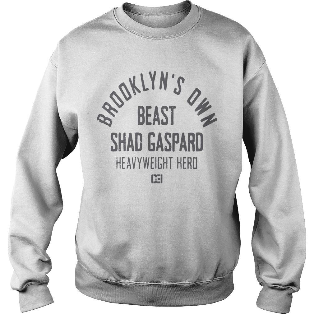 Brooklyn's Own Beast Shad Gaspard Heavyweight Hero Sweater