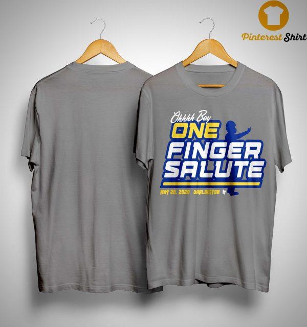Chase Elliott One Finger Salute Shirt