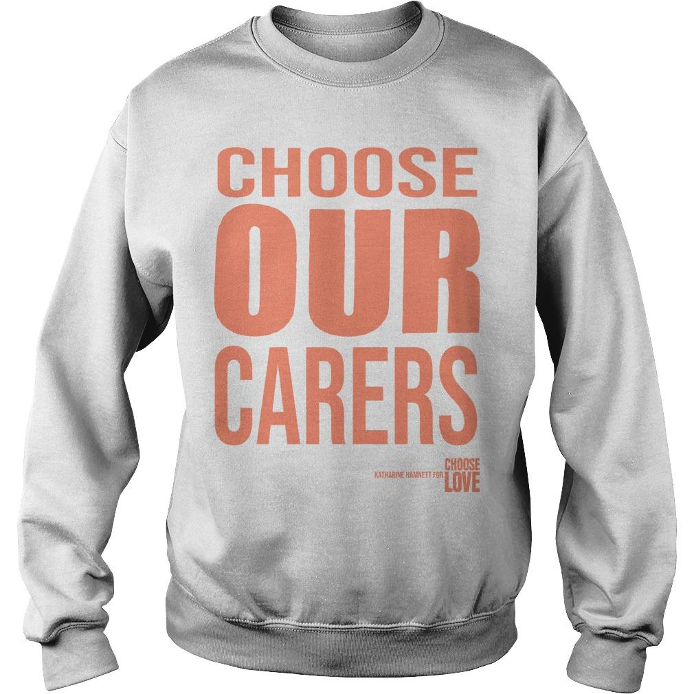 Choose Love Nhs T Sweater