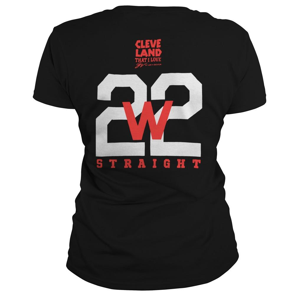 Cleveland Indians Making History 22 Straight Longsleeve