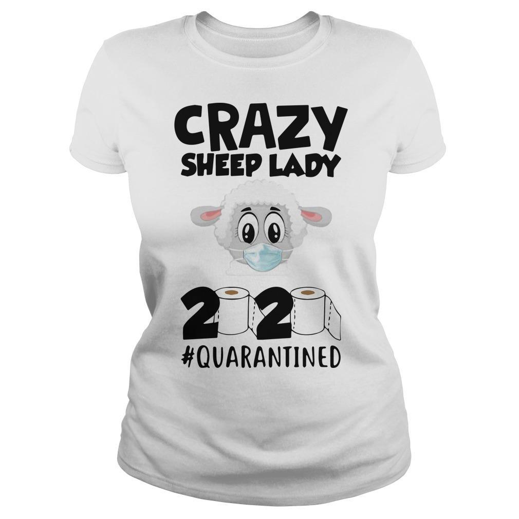 Crazy Sheep Lady 2020 Quarantined Longsleeve