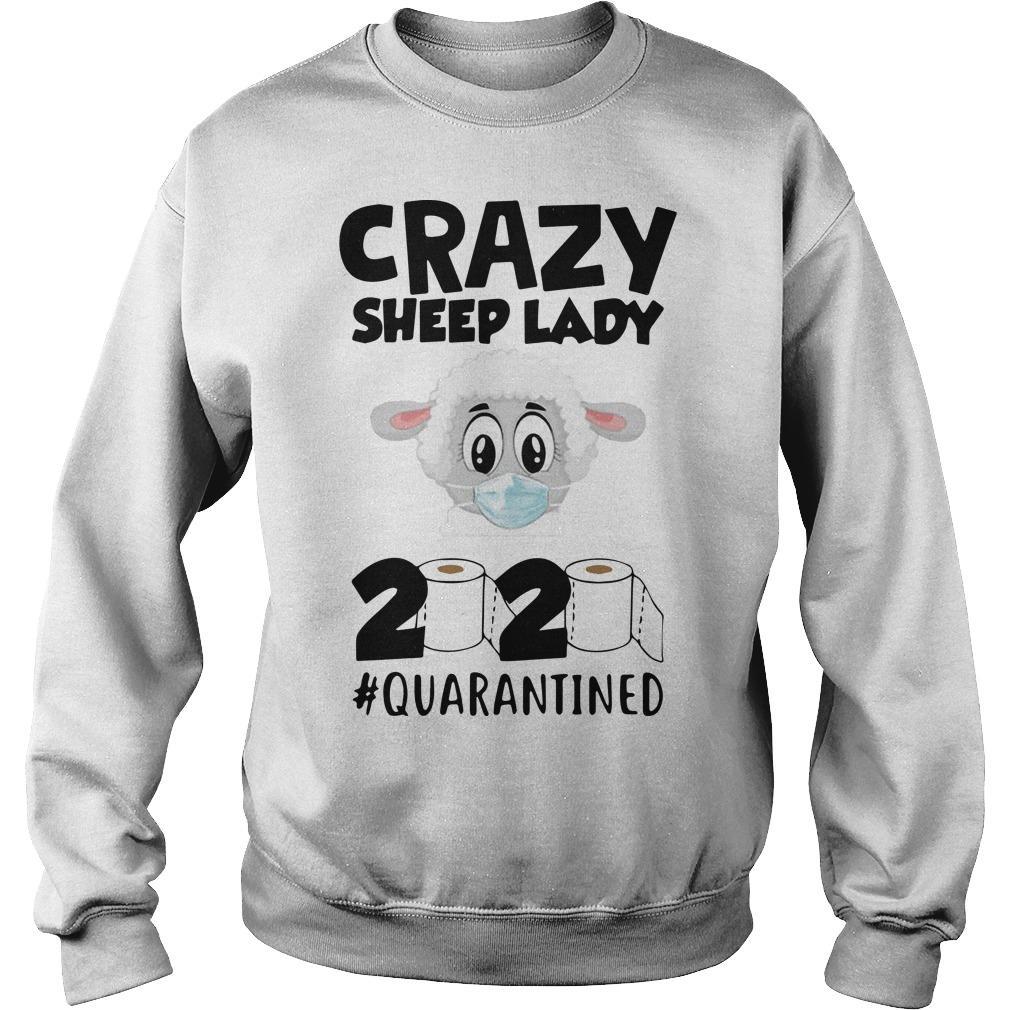 Crazy Sheep Lady 2020 Quarantined Sweater