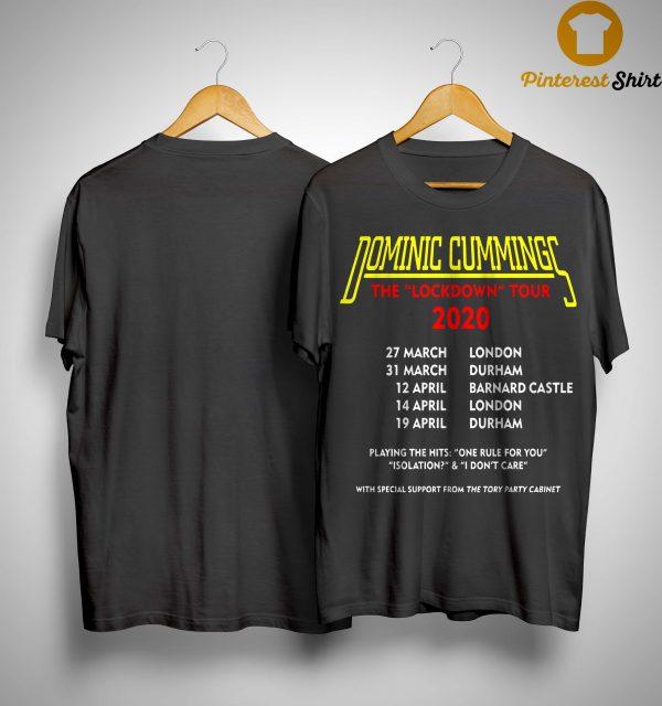 Dominic Cummings Tour T Shirt