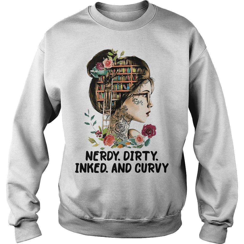 Flower Girl Nerdy Dirty Inked And Curvy Sweater