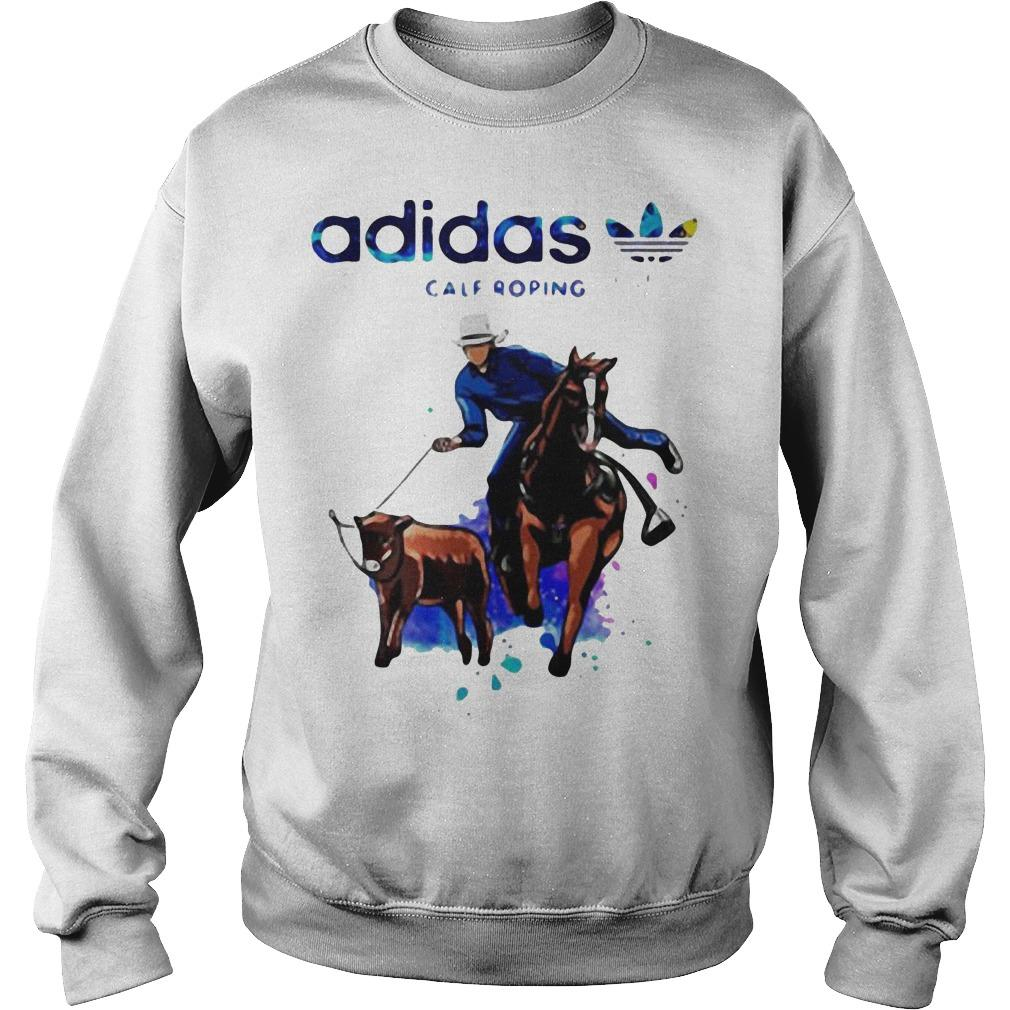Heartbeat Adidas Calf Roping Sweater