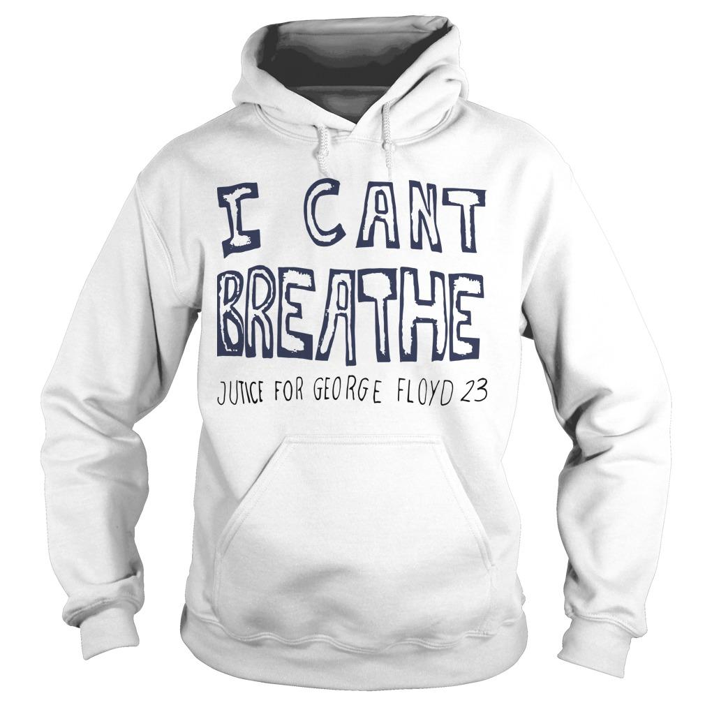 Hila Klein I Can't Breathe Justice For George Floyd 23 Hoodie
