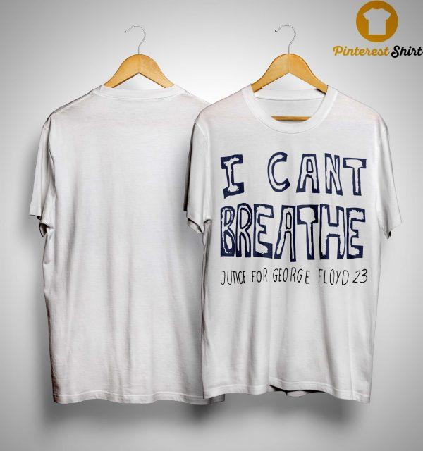 Hila Klein I Can't Breathe Justice For George Floyd 23 Shirt