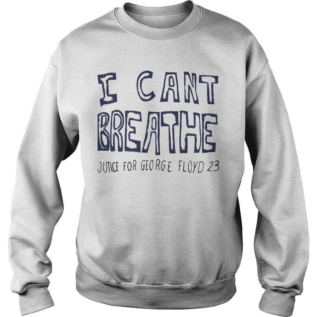 Hila Klein I Can't Breathe Justice For George Floyd 23 Sweater