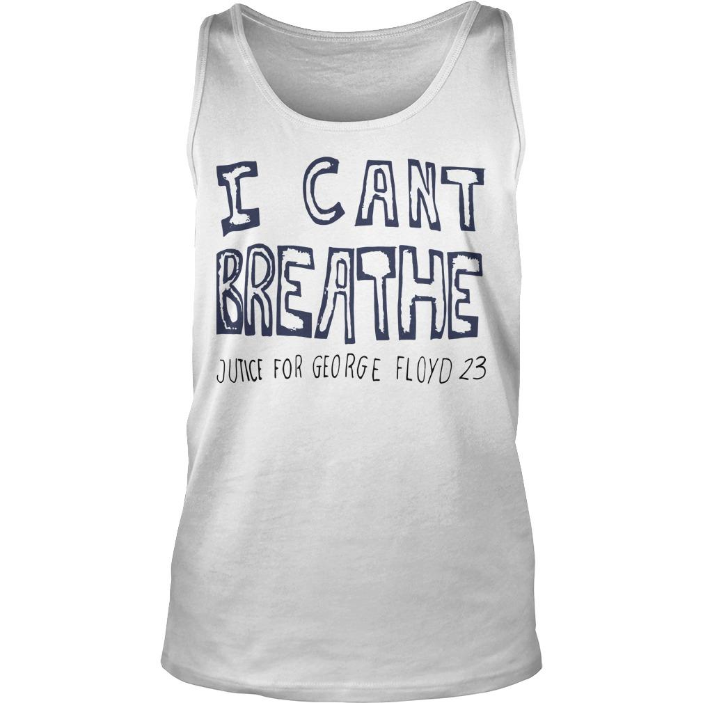Hila Klein I Can't Breathe Justice For George Floyd 23 Tank Top