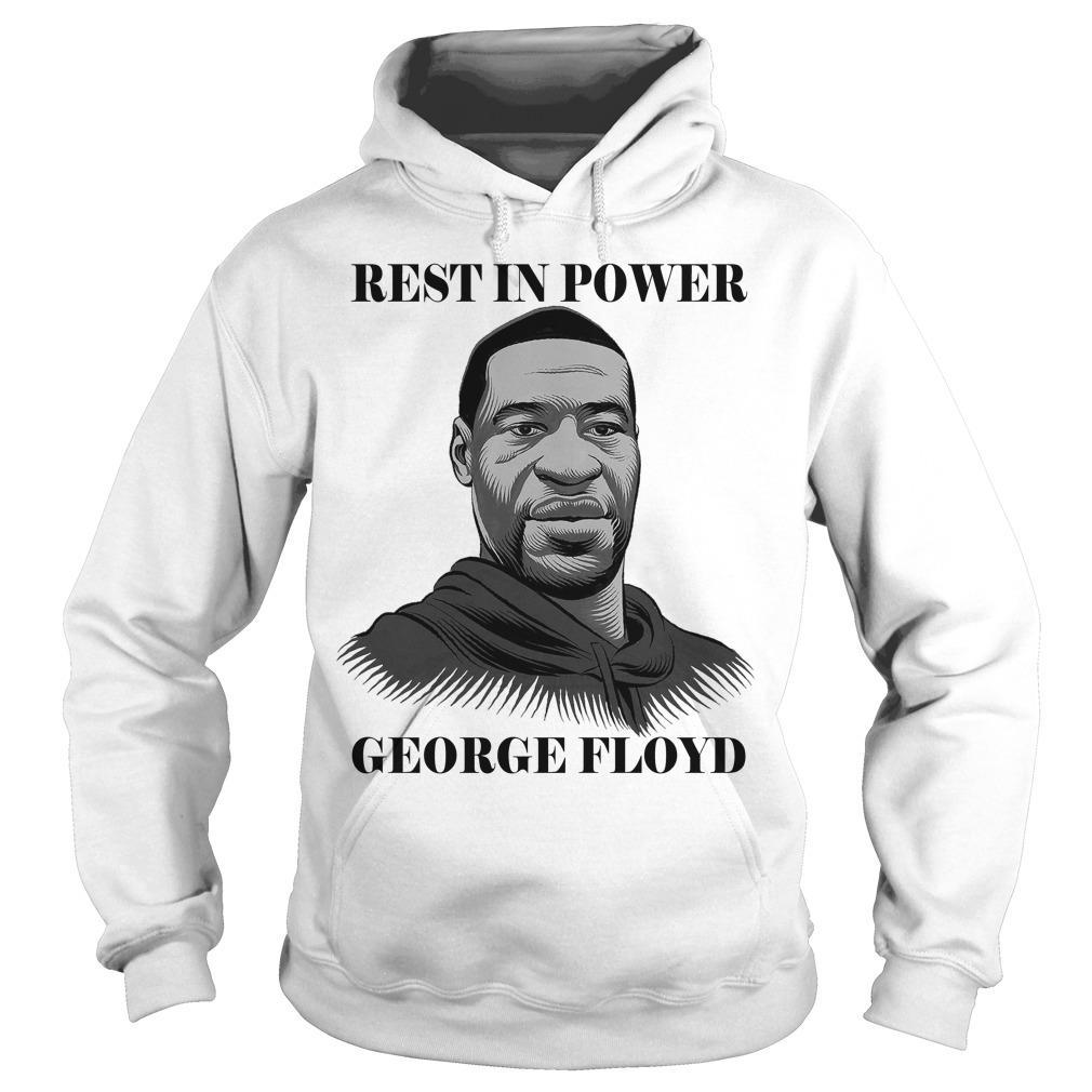 Lebron James Rest In Power George Floyd Hoodie