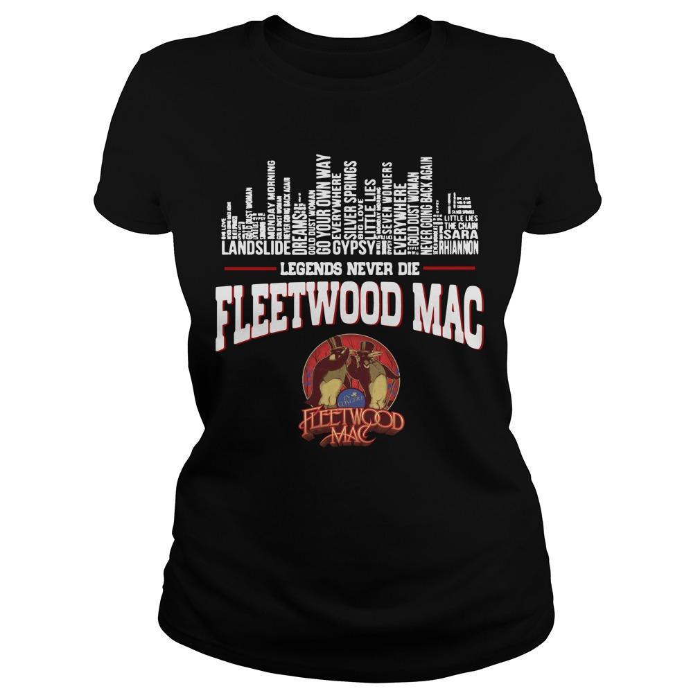 Legends Never Die Fleetwood Mac Longsleeve