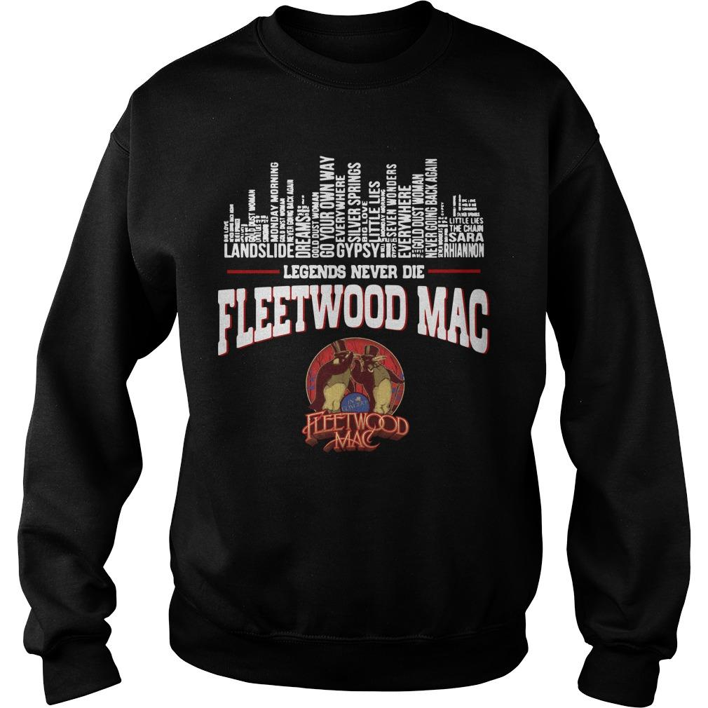 Legends Never Die Fleetwood Mac Sweater