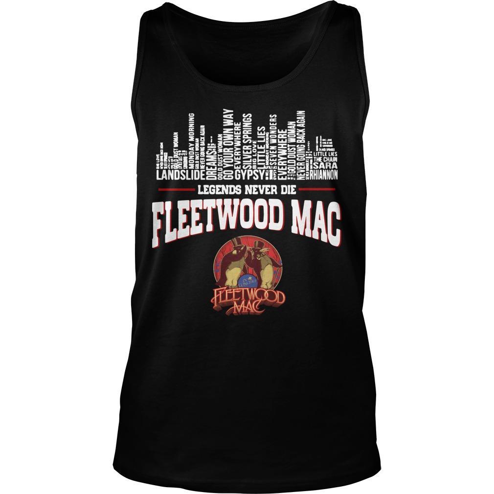Legends Never Die Fleetwood Mac Tank Top