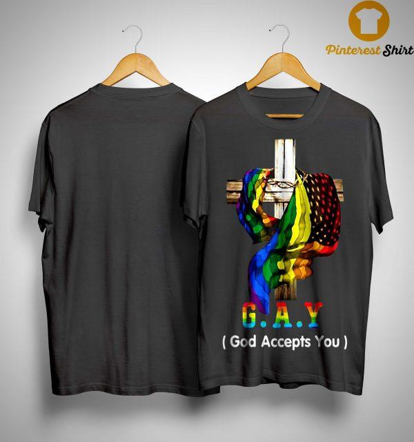 Lgbt Jesus Gay God Accept You Shirt