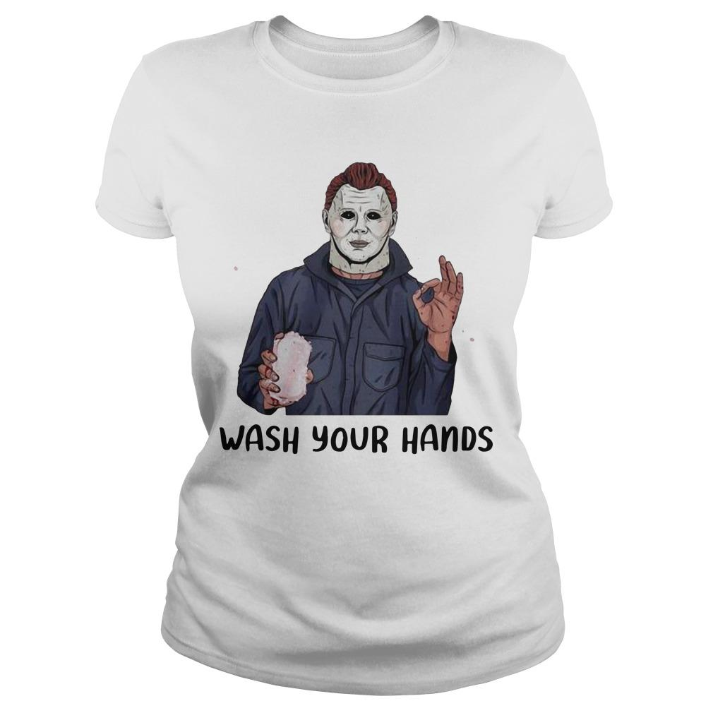 Michael Myers Wash Your Hand Longsleeve