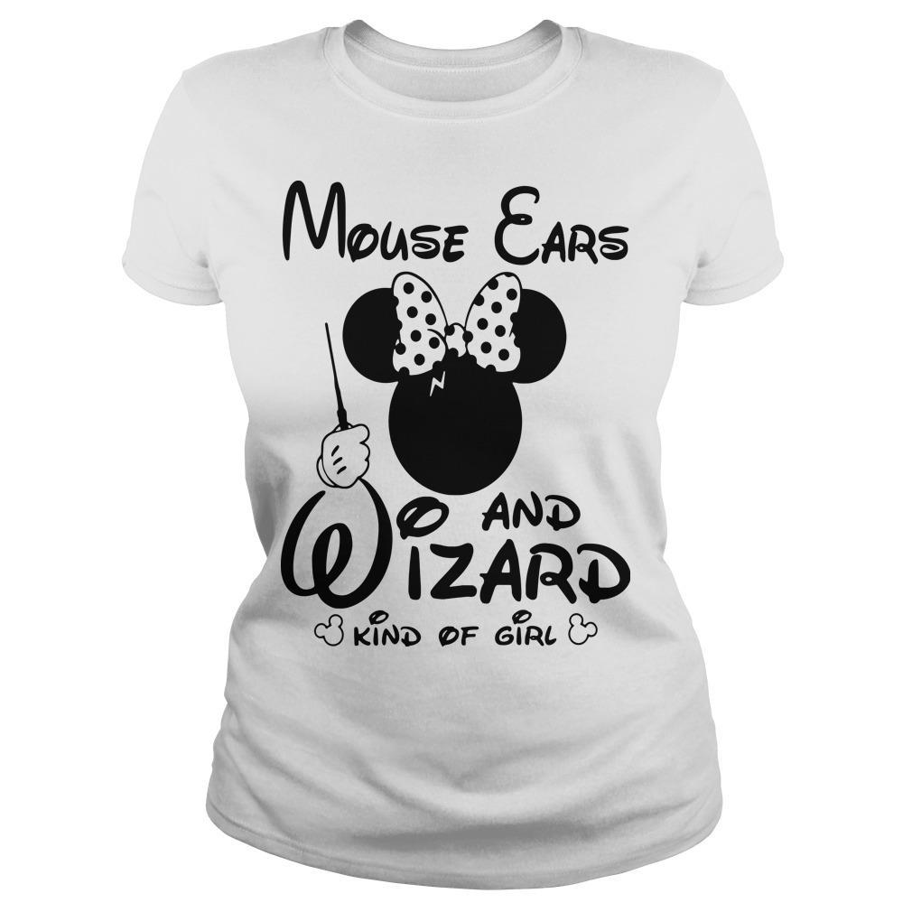 Minnie Mouse Ears And Wizard Kind Of Girl Longsleeve