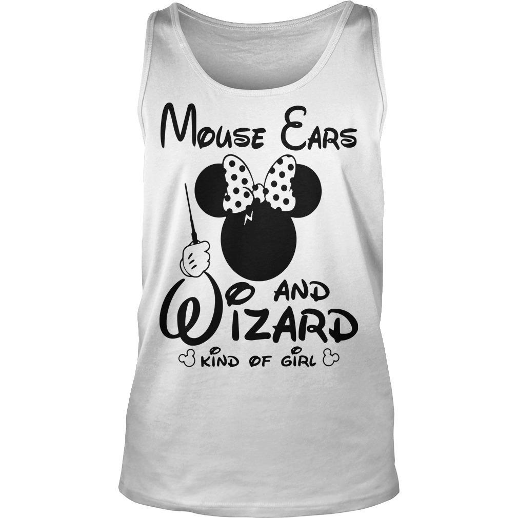 Minnie Mouse Ears And Wizard Kind Of Girl Tank Top