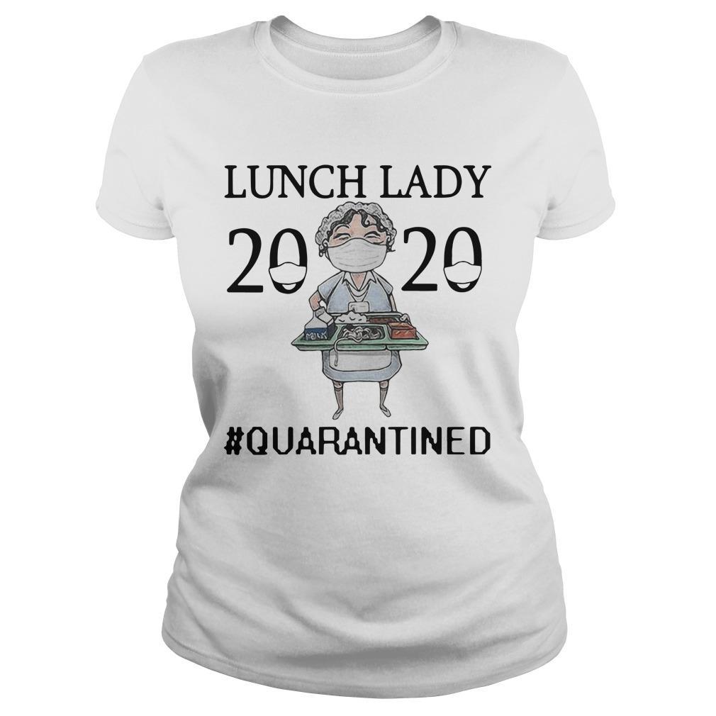 Nurse Mask Lunch Lady 2020 Quarantined Longsleeve